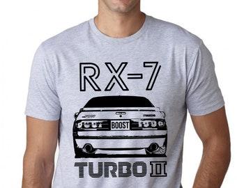 Mazda Rx-7 Turbo 2 - Jdm Legend collection custom print- Rx7 Fc