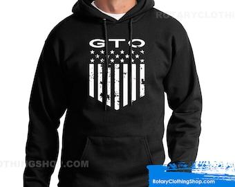 Pontiac Gto Sweater - American Muscle Car - Pontiac Sweatshirt- GM - USA Classic Vehicles