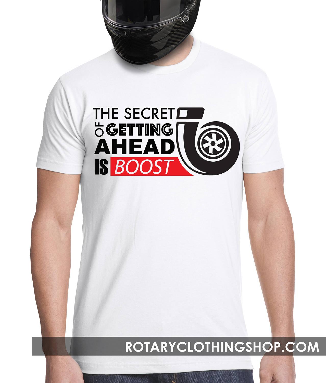 1f7715f0efdb3 Turbo T-shirt The Secret of getting ahead is boost Men