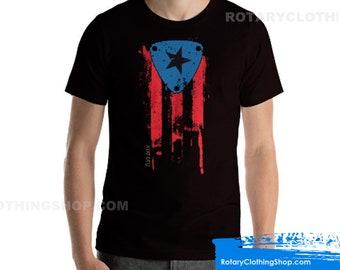 Mazda Rotary Puerto Rico Love - Wankel Engine - Boriqua Rotativo -Rx7 shirt