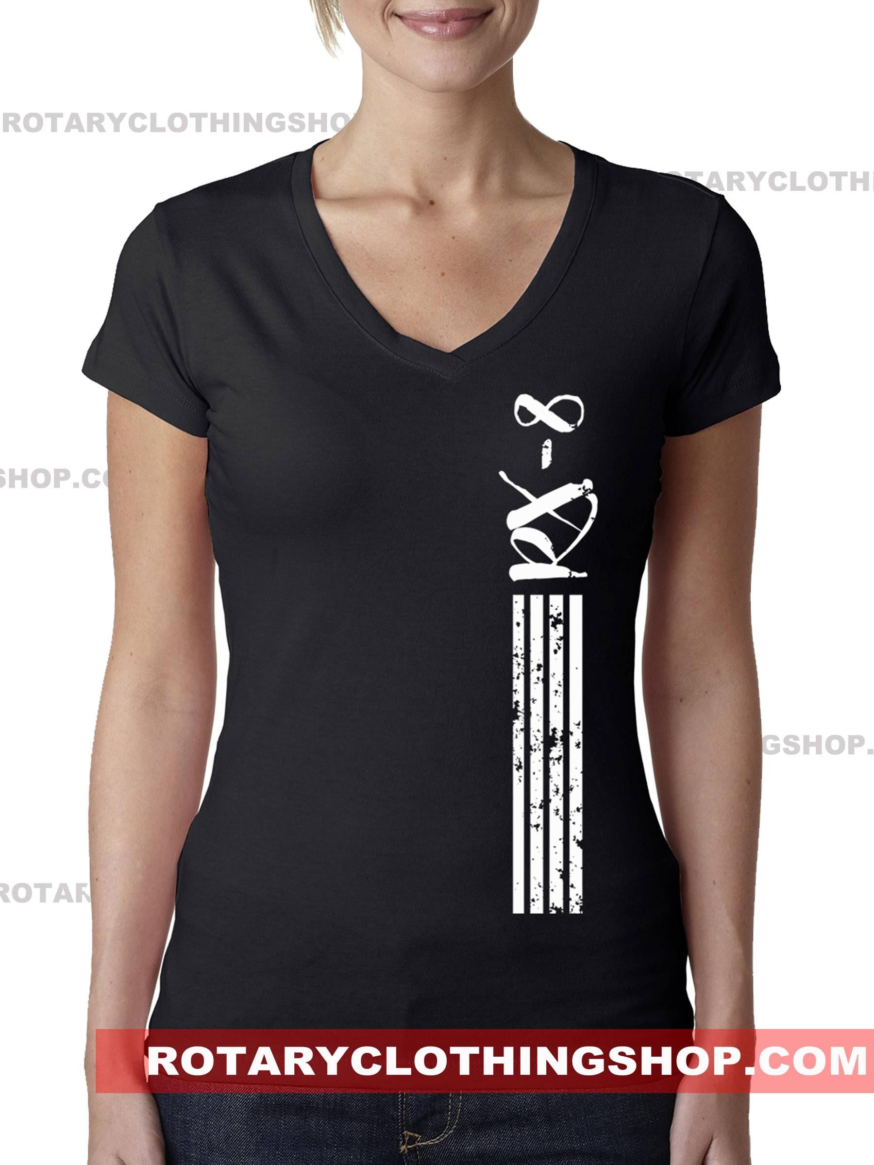 Rx-8 Stripes -Ladies top -Rotary Engine - Graphic Tshirt