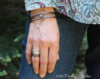 Copper Bangle Set, Bangle Set, Bangle Bracelets, Copper Bangle, Copper Bracelet, Copper Jewelry, Turquoise Bracelet, Rustic Copper Jewelry
