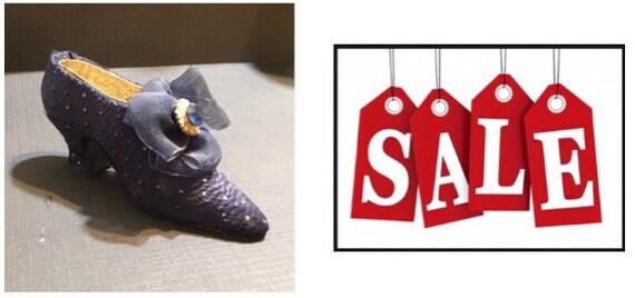 Rhinestone Elegance Fete Miniature Shoe
