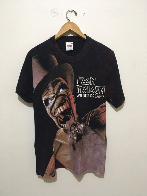 Vintage Iron Maiden Wildest Dreams T-shirt