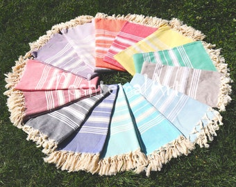 Stripe Beach Towel, Turkish Towel, Peshtemal, Pool Towel, Fouta, Turkish Towels, wholesale towel bridesmaid gift, bsk