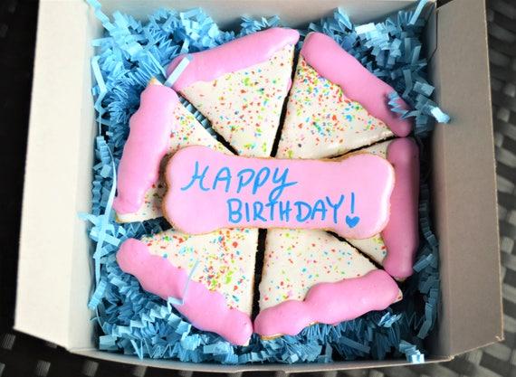Super Dantes Birthday Cake Cookies Dog Birthday Healthy Dog Etsy Funny Birthday Cards Online Inifodamsfinfo