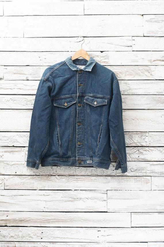 Vintage denim jacket / Vintage jean coat / Jean ja