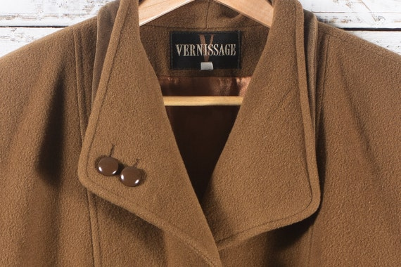 Winter wool coat | Vintage long winter jacket | W… - image 3