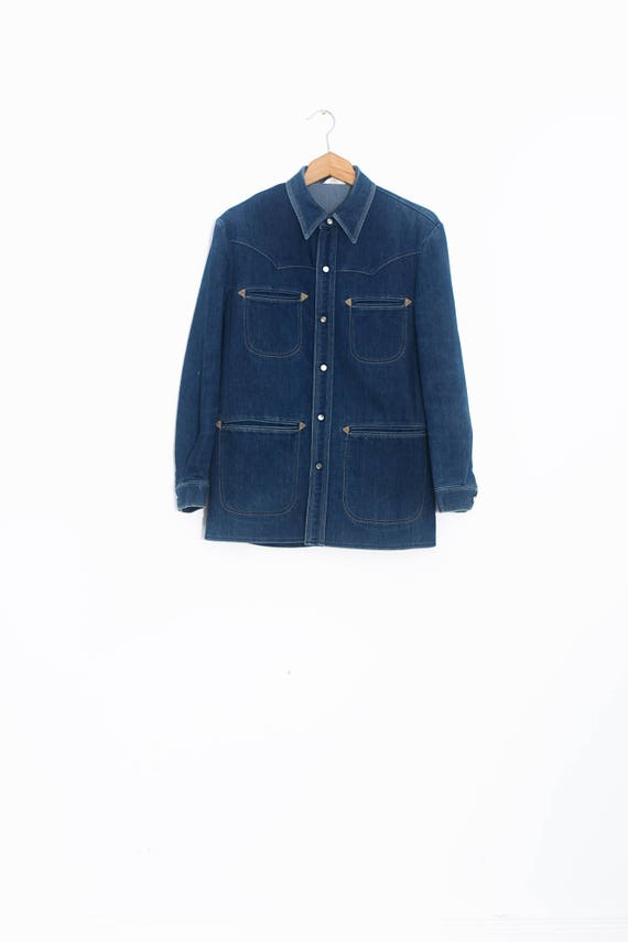 70's jean jacket | Vintage denim jacket | Western