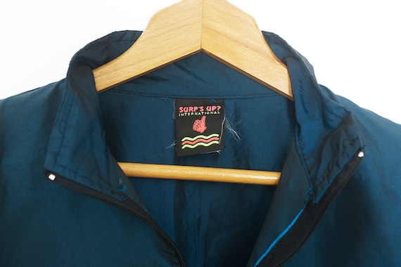 NEON Surf Retro Windbreaker | Vintage neon windbr… - image 4