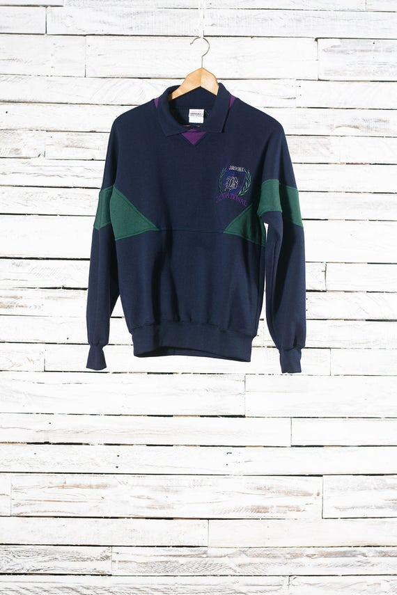 Polo style vintage sweatshirt | Vintage Brooks In… - image 1