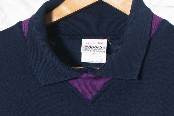 Polo style vintage sweatshirt | Vintage Brooks In… - image 4