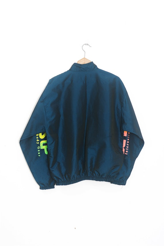 NEON Surf Retro Windbreaker | Vintage neon windbr… - image 5