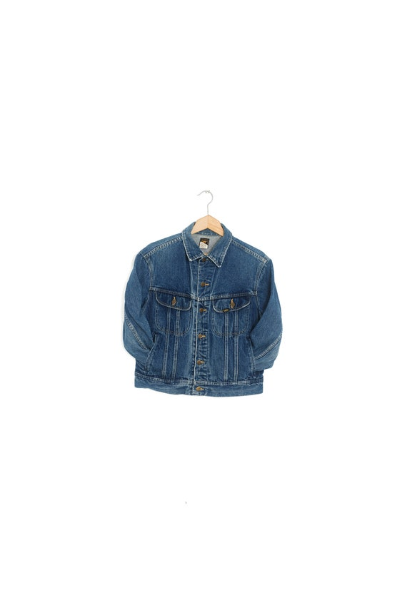 LEE Riders denim jacket Vintage denim jacket Denim