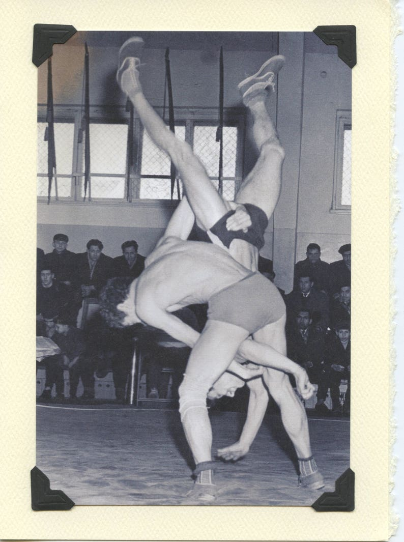 lesben wrestling knick