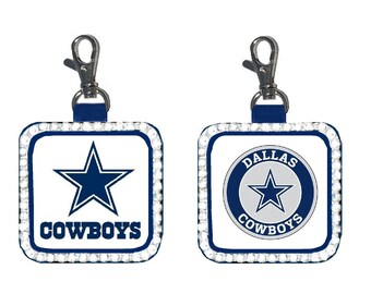 6db7f98479d673 Dallas Cowboys NFL Purse Charm Bag Bling Gift