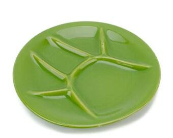 Beauce Fondue Plate, Beauceware Fondue Plate, Ceramic Fondue Plate, Sushi Plate, Mid Century Fondue Plates