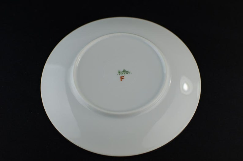 Rosenthal Bread /& Butter Plate Raymond Loey Design Form 2000 by Raymond Loewy for Rosenthal Blutenspiel Design Modernist Raymond Loey