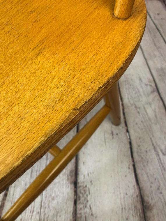 chaise en bois Ikea vintage, chaise scandinave. Chaise de style Fanett, Chaise conçue Ilmari Tapiovaara, chaise Stolkholm, chaise Preben