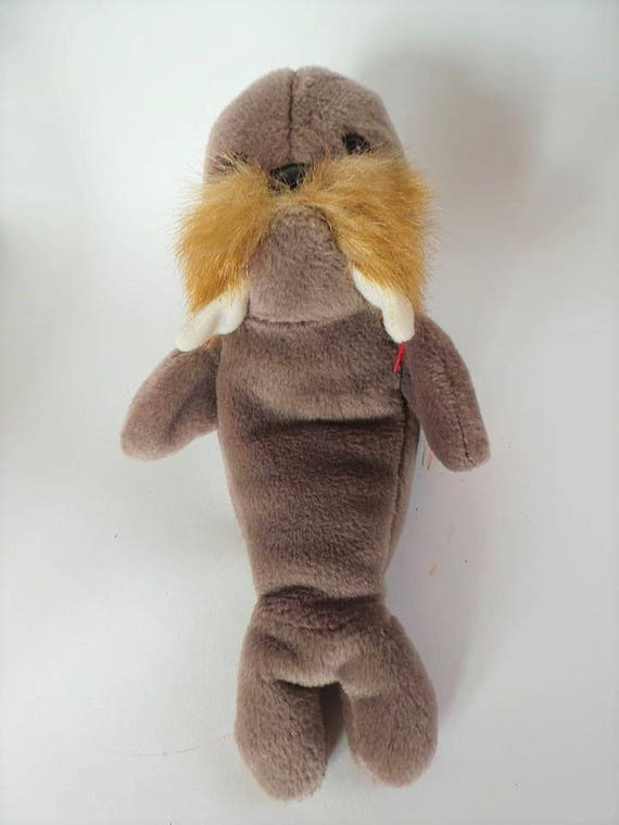 9321f447970 Ronald McDonald s Ty Beanie Baby Jolly Stuffed Walrus