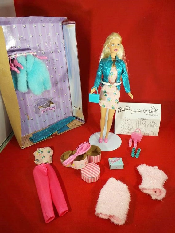 Guardaroba Di Barbie.Barbie Fashion Guardaroba Mattel