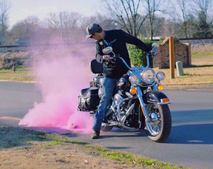 Premium Burnout Gender Reveal Tire Pack Burnout Pink Blue Yellow Red Green Orange Purple or White