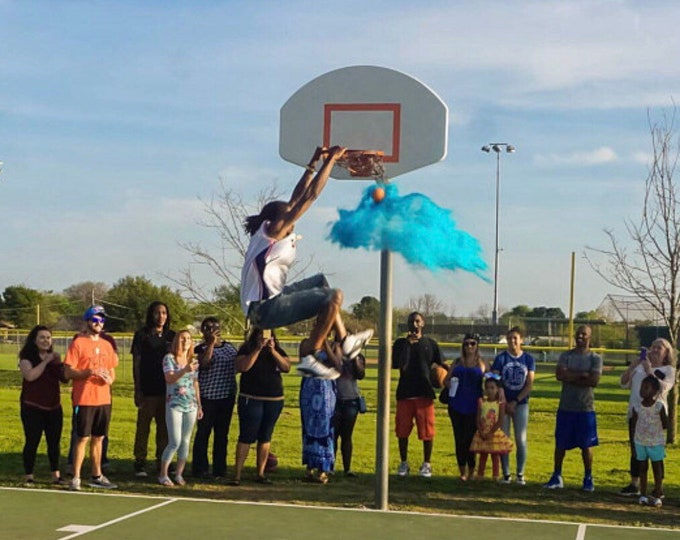 BASKETBALL Gender Reveal Basketball With Powder and/or Confetti