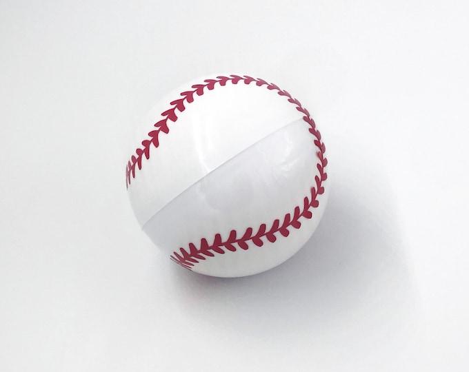 EMPTY BASEBALL Gender Reveal! Handmade Gender Reveal Baseball!