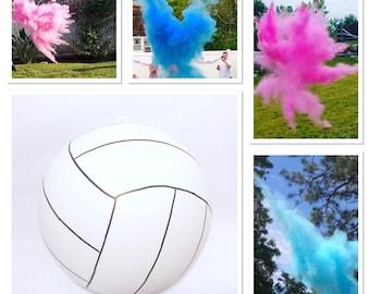 Gender Reveal Volleyball 6.25 inch - Gender Reveal Volleyball Gender Reveal Ideas Gender Reveal Volleyball