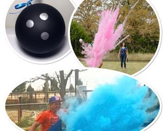 Bowling Ball - 6.25 inch - Gender Reveal Bowling Ball Gender Reveal Ideas Gender Reveal Bowling Ball