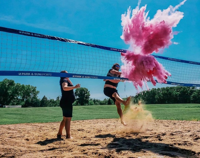 VOLLEYBALL Gender Reveal Volleyball with Powder and/or Confetti