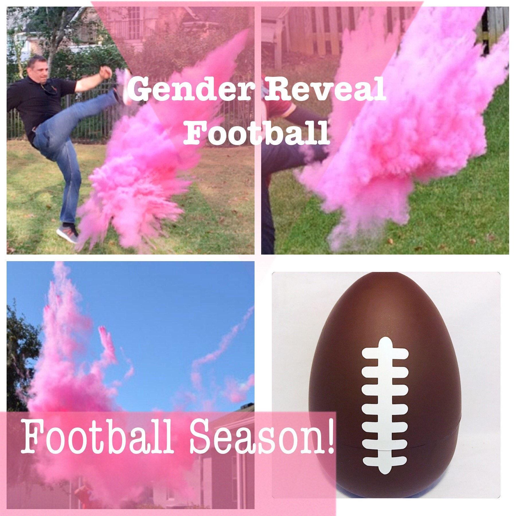 FOOTBALL Gender Reveal Ideas Football Gender Reveal Reveal   Etsy
