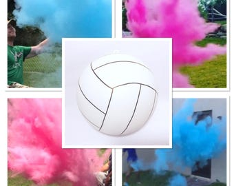 Volleyball - 6.25 inch - Gender Reveal Volleyball Gender Reveal Ideas Gender Reveal Volleyball