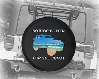 Ocean Compass Spare Jeep Wrangler Camper SUV Tire Cover Gray Ink 29 in Not All Who Wander Are Lost
