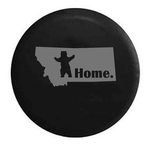 North Carolina Home State Edition RV Spare Tire Cover OEM Vinyl Tan 29 in