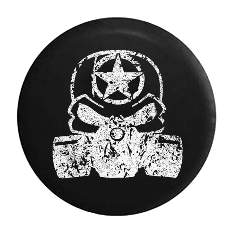 Tibal Sun Live Your Life Compass Jeep Spare Tire Cover Black Spare Tire Cover Black 35 Inch American Unlimited Distressed
