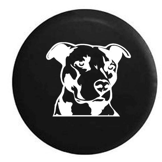 Distressed Pitbull Terrier Staffy Dog Lover K9 American Offroad Funny Sweatshirt