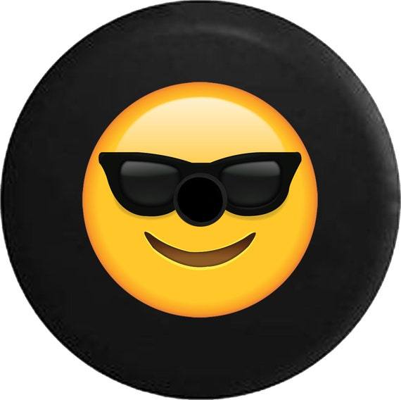 2018 Jl Back Up Camera Spare Tire Cover Text Emoji Smiling Etsy