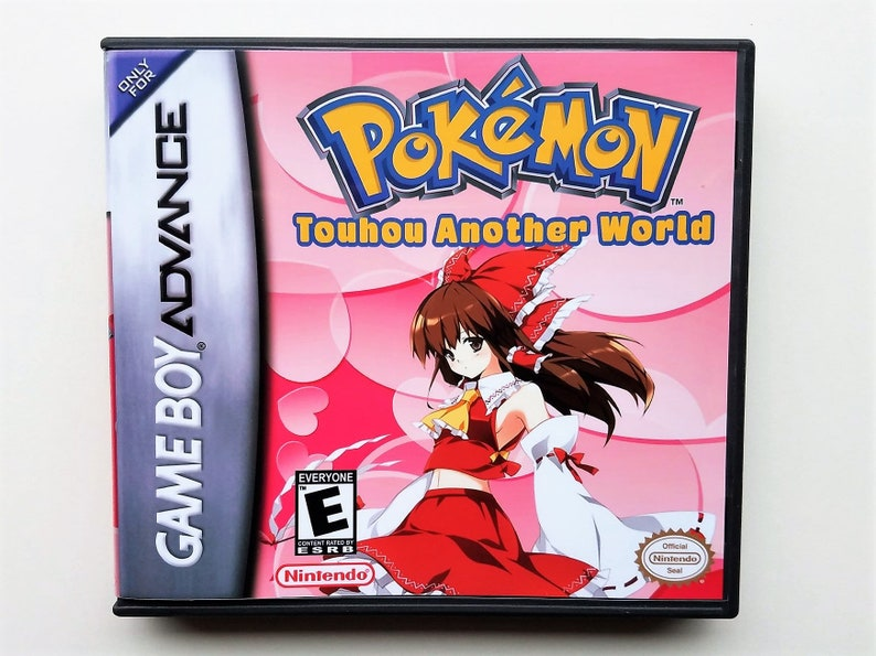 Pokemon Touhou Another World + Case Fan made hack GBA (Touhoumon) - Custom  Gameboy Advance ROM Hack (US Seller)
