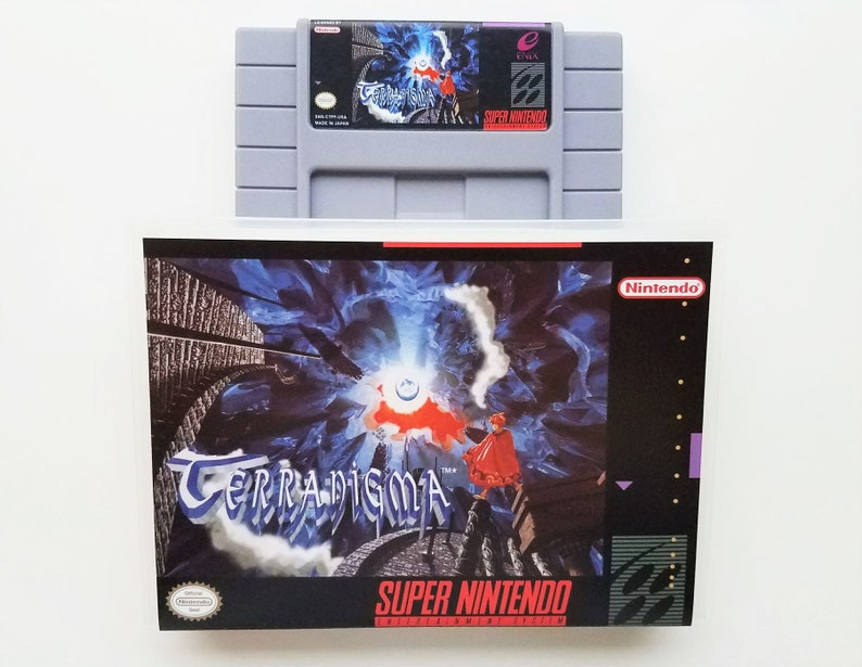 Terranigma (Game + Case) SNES English NTSC - Super Nintendo Role Playing  Game (RPG)