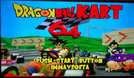 Dragonball Kart N64 Homebrew Hack Nintendo 64 Mario Kart With Dragon Ball Z Usa Seller Needs Expansion Pak To Play