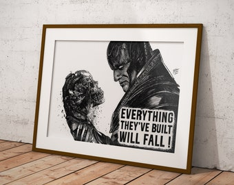 X-Men Apocalypse - Giant Drawing (Print)