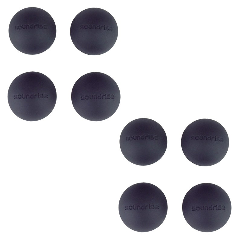 DOMES 1.25 Class-A SIlicone Vibration Isolation Pads 8-Pack Self-Adhesive