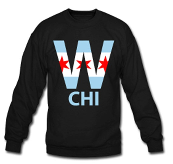 Chicago Cubs ganar Chicago bandera cuello redondo || Postemporada || Serie de mundo campeones || Post temporada || Bryant || Rizzo || Arrietta || San