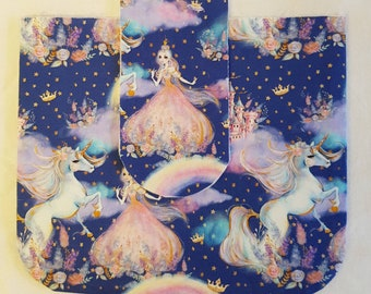 Handmade Unicorn Girls Purse/ Girls Purse/Girls Handbag/ Unicorn Coin Purse/Princess Girls Purse/Purses for Girls/Princess and Unicorns