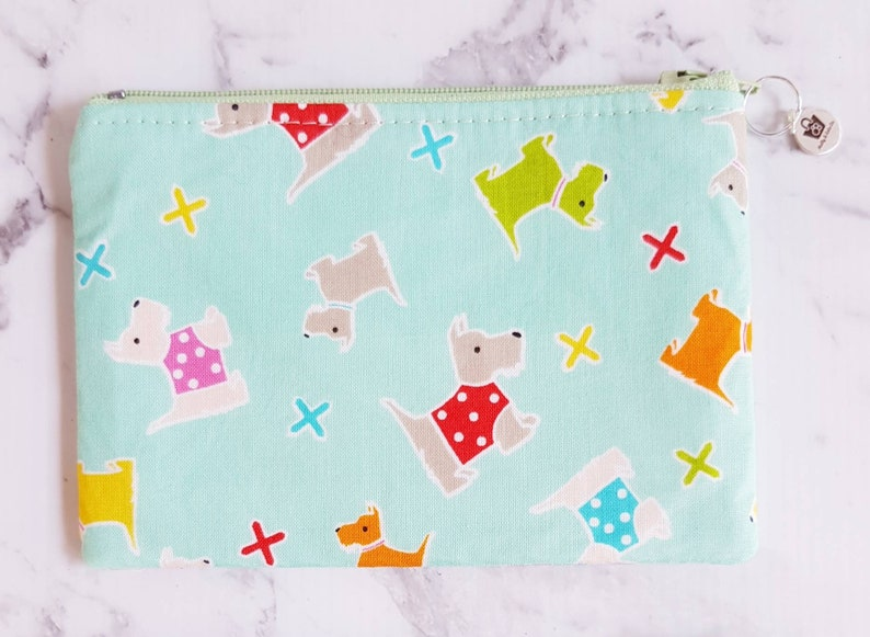 Coin Purse  Scottie Dog Coin Purse  Scottish Terrier Coin Purse  Coin Pouch  Gifts for Her  Zipper Coin Purse Scottish Terrier
