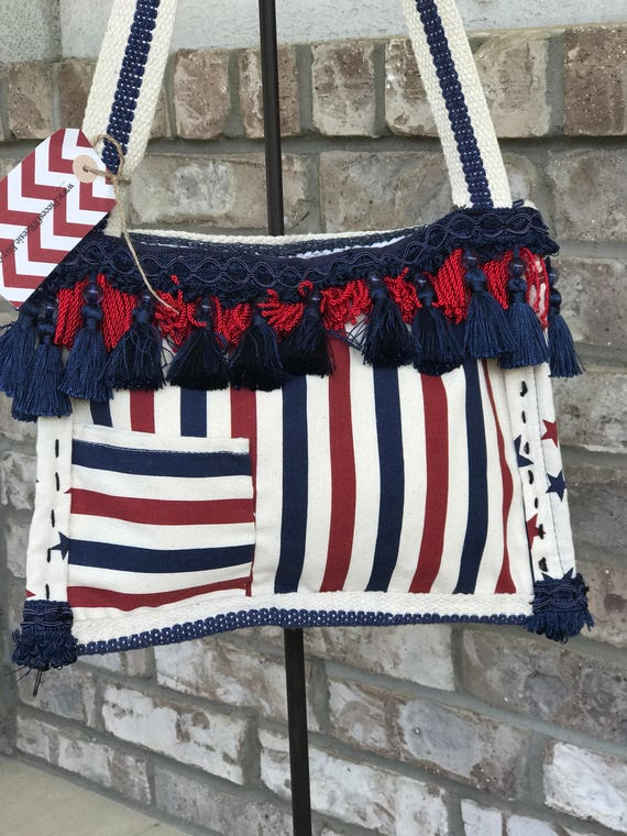 Proud to be an American purse