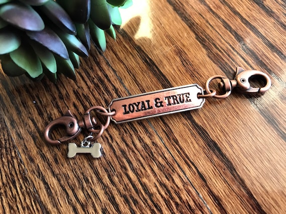 Puppy or Dog, Loyal and True, Lanyard / Badge Holder