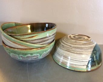 Set of 4 Ceramic Bowls