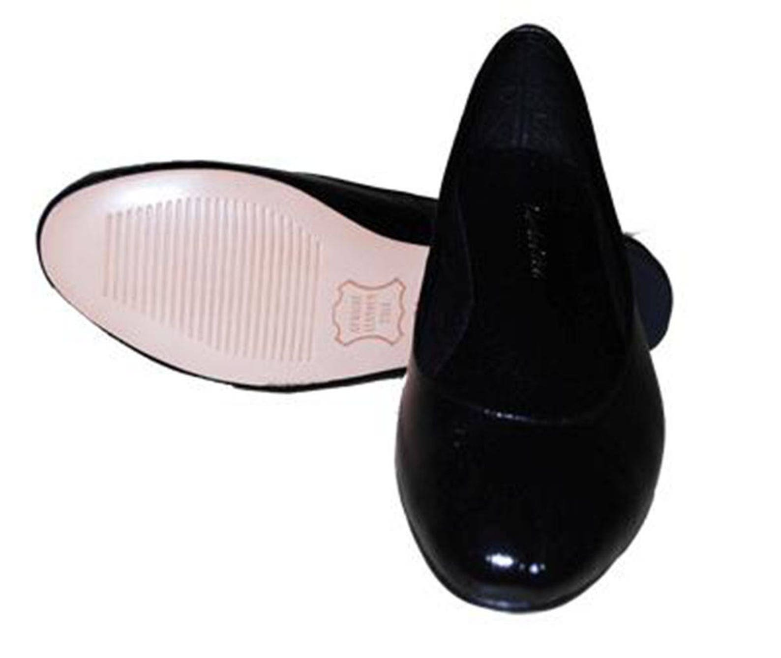 black leather ballet flats, handmade black leather ballet flats, black women's flats.